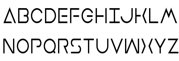 Earth Orbiter Condensed Font UPPERCASE