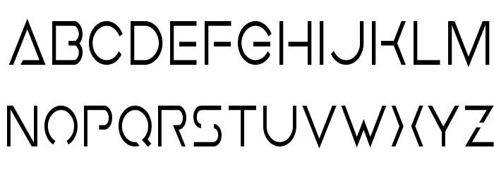 Earth Orbiter Condensed Font LOWERCASE