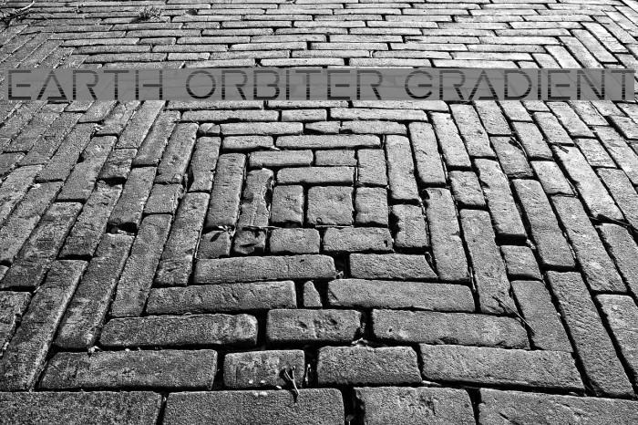 Earth Orbiter Gradient Font examples
