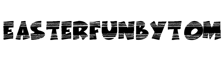 EasterFunbyTom  Скачать бесплатные шрифты