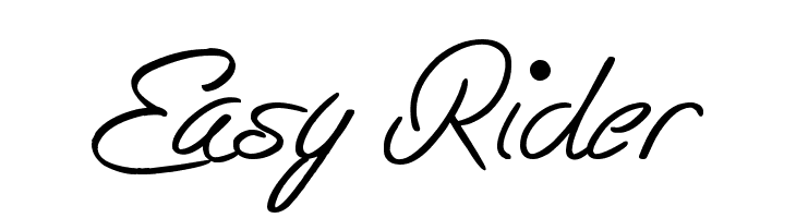 Easy Rider  Скачать бесплатные шрифты