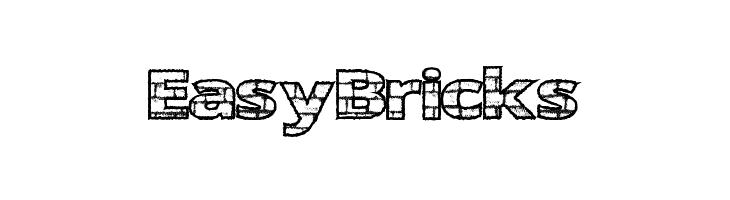 EasyBricks  font caratteri gratis