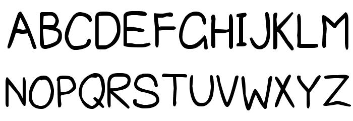 Edd's Font Font UPPERCASE