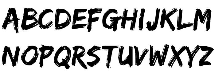 Edo Font UPPERCASE