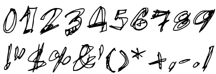 EgidoVal Handstyle 1 Medium Schriftart Anderer Schreiben