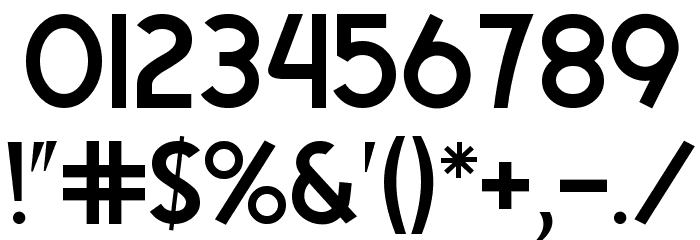 Egmont Text Font OTHER CHARS