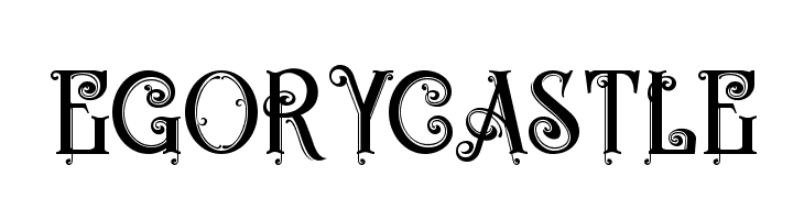 Egorycastle  Free Fonts Download