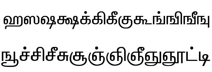 ELANGO-TML-Panchali-Normal Шрифта строчной
