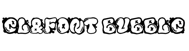 El&Font Bubble Fuentes