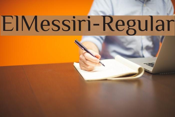 ElMessiri-Regular Fuentes examples