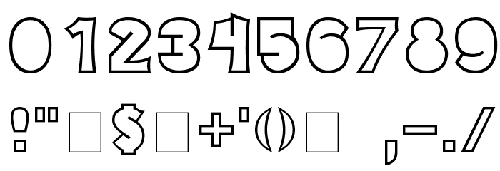 Electric Pickle Font OTHER CHARS