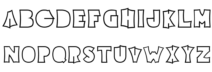 Electric Pickle Font LOWERCASE