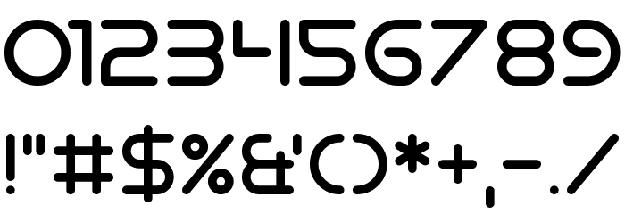 Electro Shackle Font OTHER CHARS