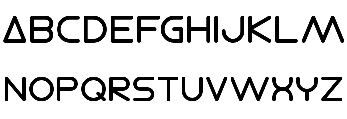 Electro Shackle Font UPPERCASE