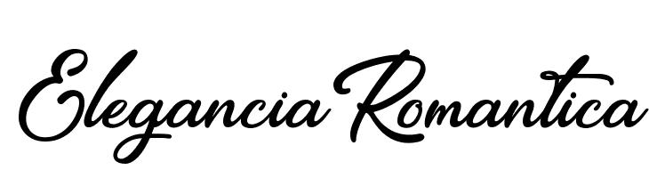 EleganciaRomantica  フリーフォントのダウンロード