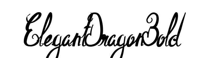 ElegantDragonBold  Descarca Fonturi Gratis