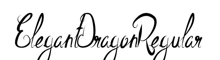 ElegantDragonRegular  Descarca Fonturi Gratis