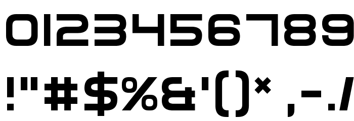 Elemental End Font OTHER CHARS