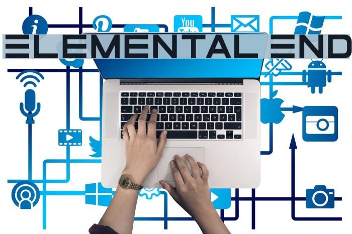 Elemental End Font examples