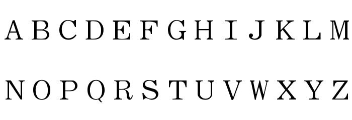 Elite Font UPPERCASE