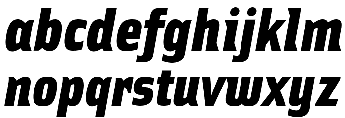 Ellipsoideogram Font LOWERCASE