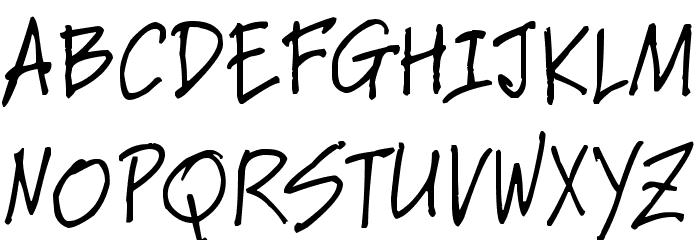 Elmo Font UPPERCASE