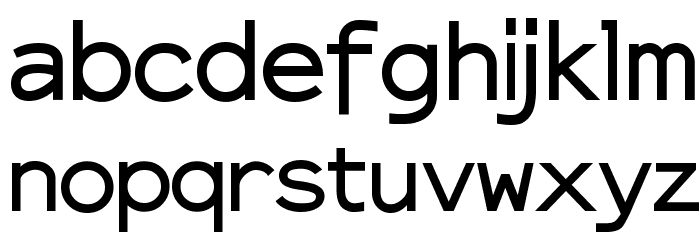 ElroNet Proportional Font LOWERCASE