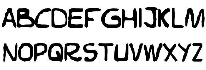 Elvifrance Font UPPERCASE