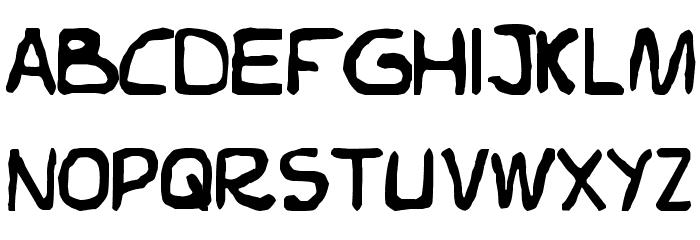 Elvifrance Font LOWERCASE
