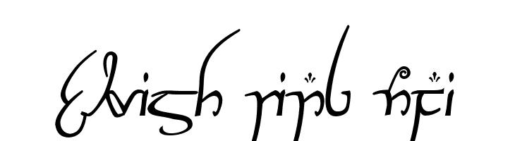 Elvish Ring NFI  Скачать бесплатные шрифты