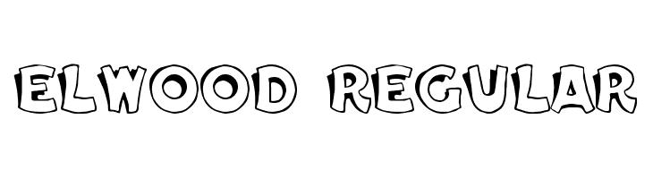Elwood Regular  Free Fonts Download