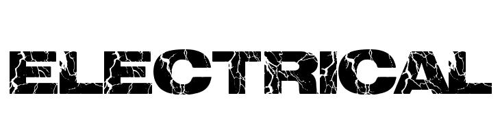 electrical  font caratteri gratis