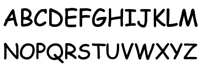 EMcomic-Bold Font UPPERCASE