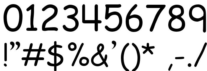 EMcomic-Regular Font OTHER CHARS