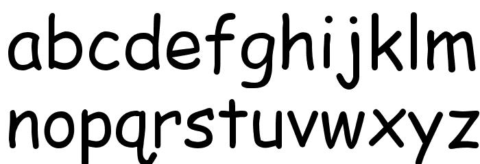 EMcomic-Regular Font LOWERCASE