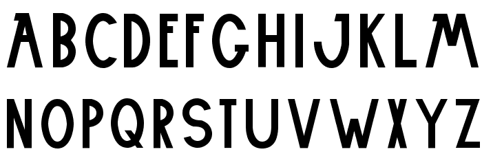 Embxz-Regular フォント 小文字