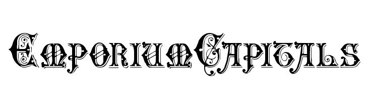 EmporiumCapitals  Free Fonts Download