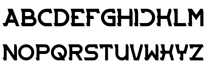 ENTRANCE Font UPPERCASE