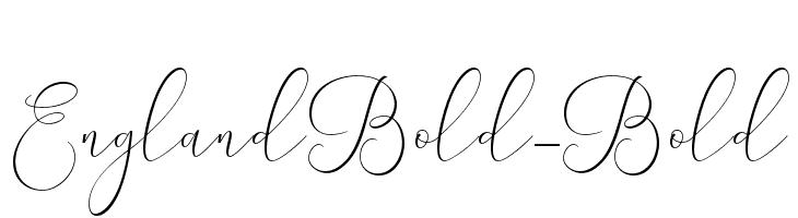 EnglandBold-Bold フォント