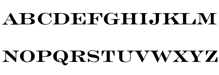 Engravers' Roman Bold BT Font LOWERCASE