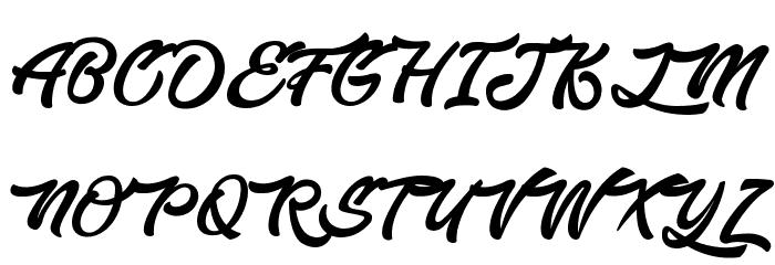 EnlightenyourDestiny Font UPPERCASE