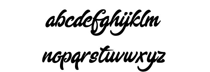 EnlightenyourDestiny Font LOWERCASE