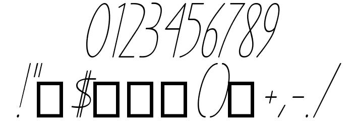 Ensure Medium Italic Fuentes OTROS CHARS
