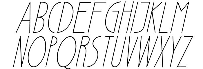 Ensure Medium Italic Fuentes MAYÚSCULAS