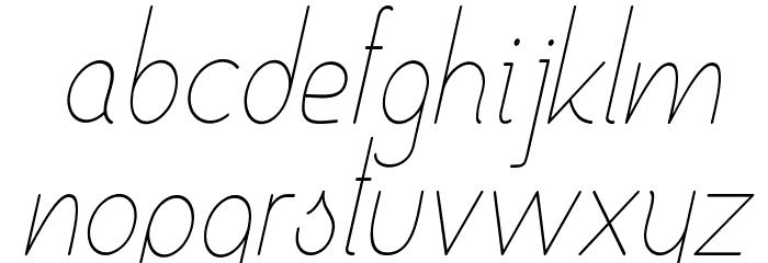 Ensure Medium Italic Fuentes MINÚSCULAS