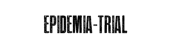 EPIDEMIA-TRIAL  नि: शुल्क फ़ॉन्ट्स डाउनलोड