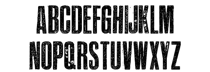 EPIDEMIA-TRIAL Font LOWERCASE