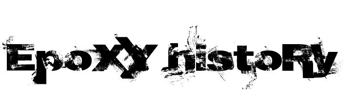 EpoXY histoRy  Free Fonts Download
