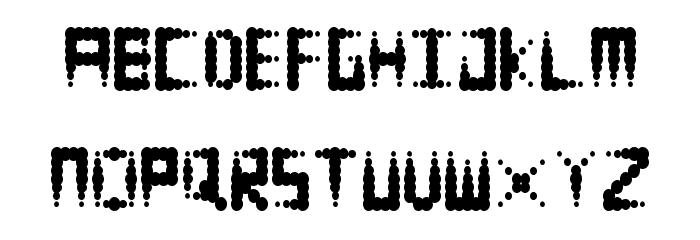Equalizer Regular Font UPPERCASE