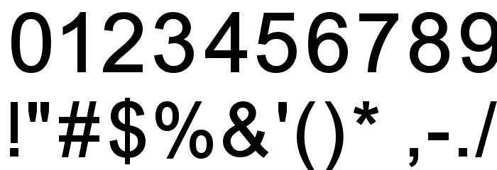 ER Univers 866 Font OTHER CHARS